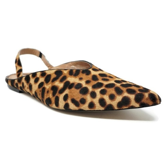 5cd35e049e6 Halogen Shoes - Halogen Sadie Slingback Leopard Flats Calf Hair